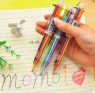 Шариковая ручка «6 цветов»