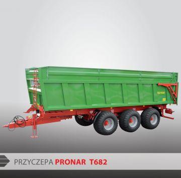 Монолитный прицеп тридем PRONAR Т682