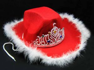 Шляпа ковбоя женская