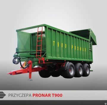 Прицепы PRONAR PowerPush T900 и Т902