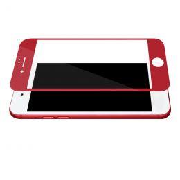 Защитное 3D стекло iPhone 7/7Plus RED!