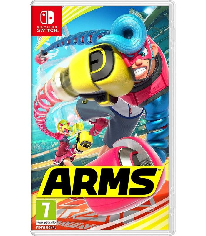 Игра Arms (nintendo switch)