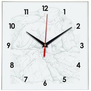 Часы раскраска Пума