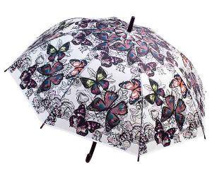 Зонт-трость Бабочки N 1
