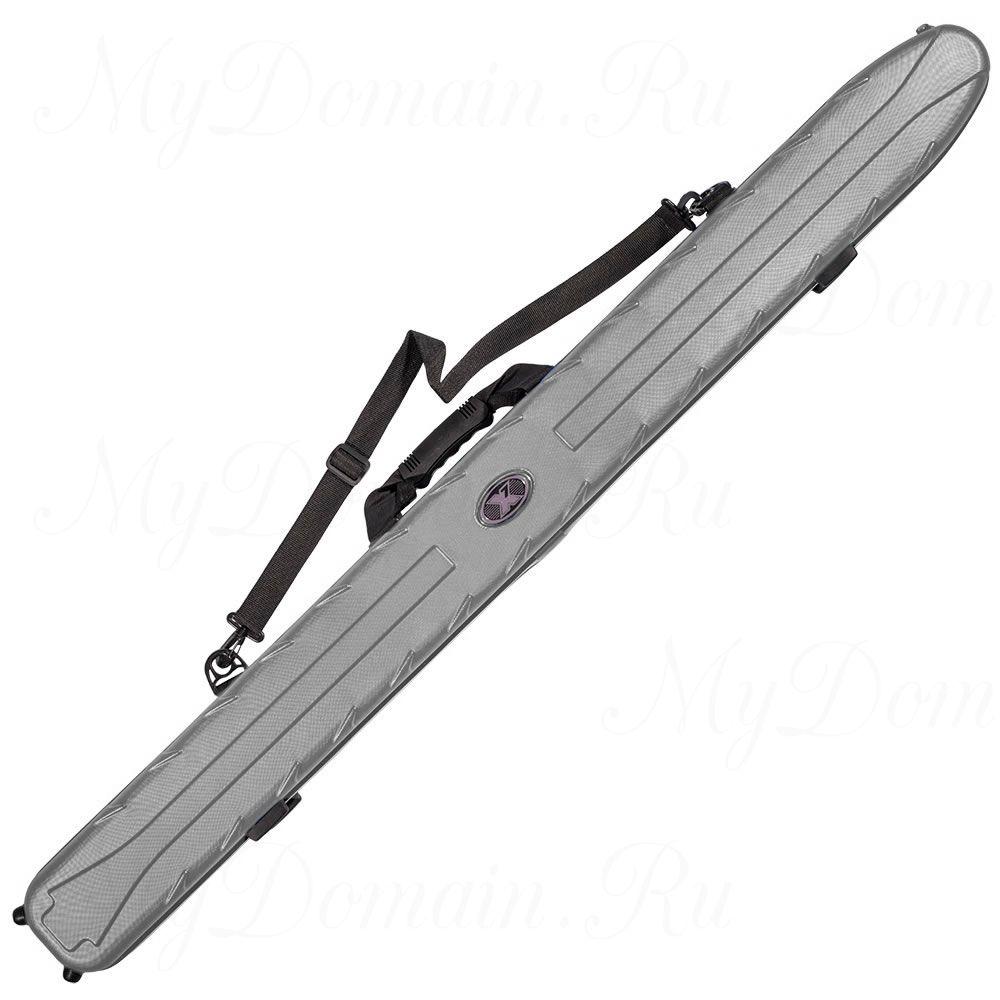 Чехол жесткий X7 Rod Case 145 Metal Chrome