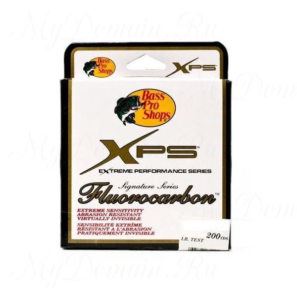 Леска Флюорокарбоновая Bass Pro Shops XPS Signature Series 0,270 мм; 10 lb/4,5 кг; 183 м.