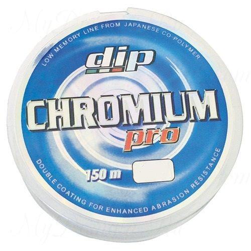 Леска монофольная Dip Line Chromium Pro 0,148 мм; 2,45 кг; 150 м.