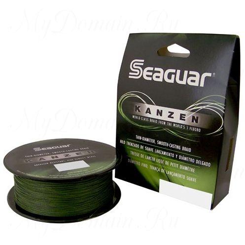 Шнур плетеный Seaguar Kanzen зелёный 0,370 мм; 50 lb/22,7 кг; 150 ярдов/137 м.