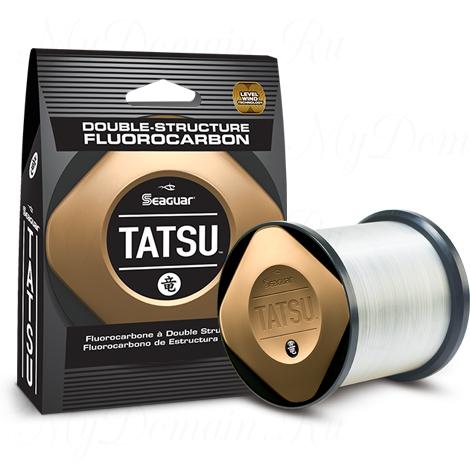Леска флюорокарбоновая Seaguar Tatsu 0,330 мм; 15 lb/6,8 кг; 1000 ярдов/914 м.
