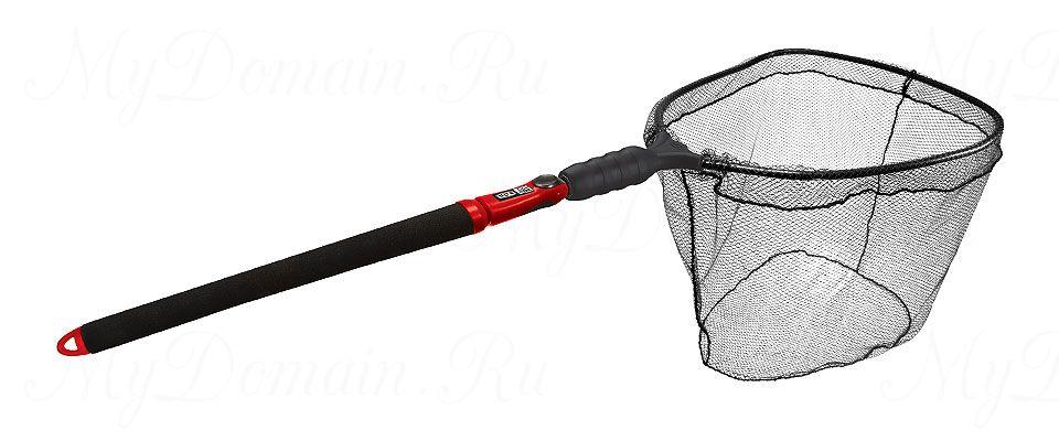 Подсак-слайдер нетонущий EGO S2 Slider; обруч 56x58x51 см; ПВХ-плоское дно; рукоятка 74-152 см; вес 1200 гр.
