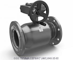 Кран шаровый стальной фланцевый КШЦФ Ду 350 Ру 16