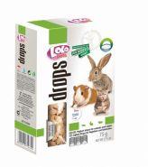 Lolo Pets Drops Витаминное лакомство с йогуртом для грызунов и кроликов (75 г)