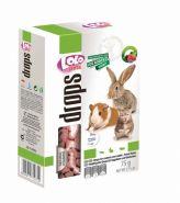 Lolo Pets Drops Витаминное лакомство с лесными ягодами для грызунов и кроликов (75 г)
