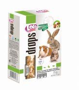 Lolo Pets Drops Витаминное лакомство с орехами для грызунов и кроликов (75 г)