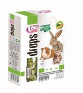 Lolo Pets Drops Витаминное лакомство с овощами для грызунов и кроликов (75 г)