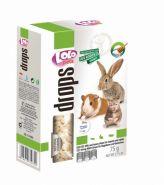 Lolo Pets Drops Витаминное лакомство медово-молочное для грызунов и кроликов (75 г)