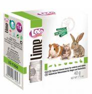 Lolo Pets Lime Минеральный камень для грызунов и кроликов (40 г)