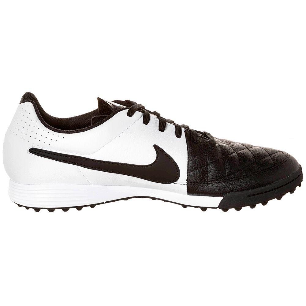 Шиповки Nike Tiempo Genio TF чёрно-белые