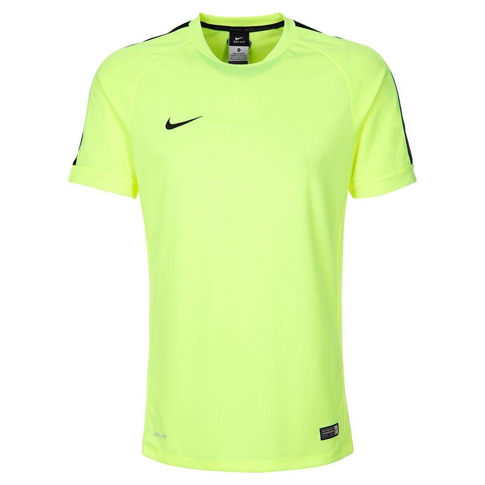 Футболка Nike Squad 15 тренировочная салатовая