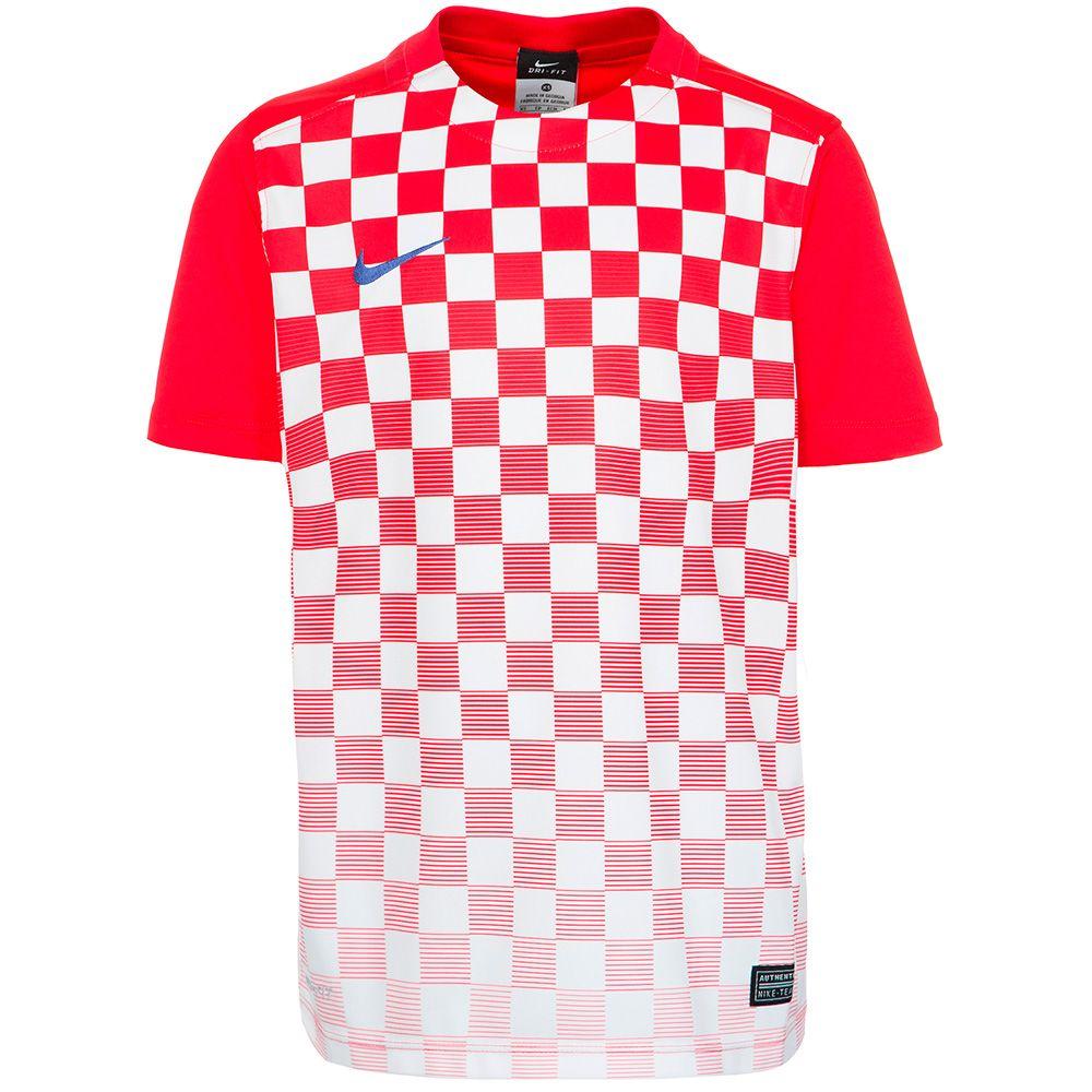 Детская футболка Nike Precision III красно-белая