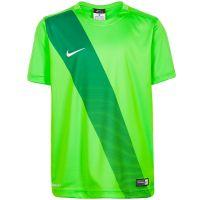Детская футболка Nike Sash салатовая