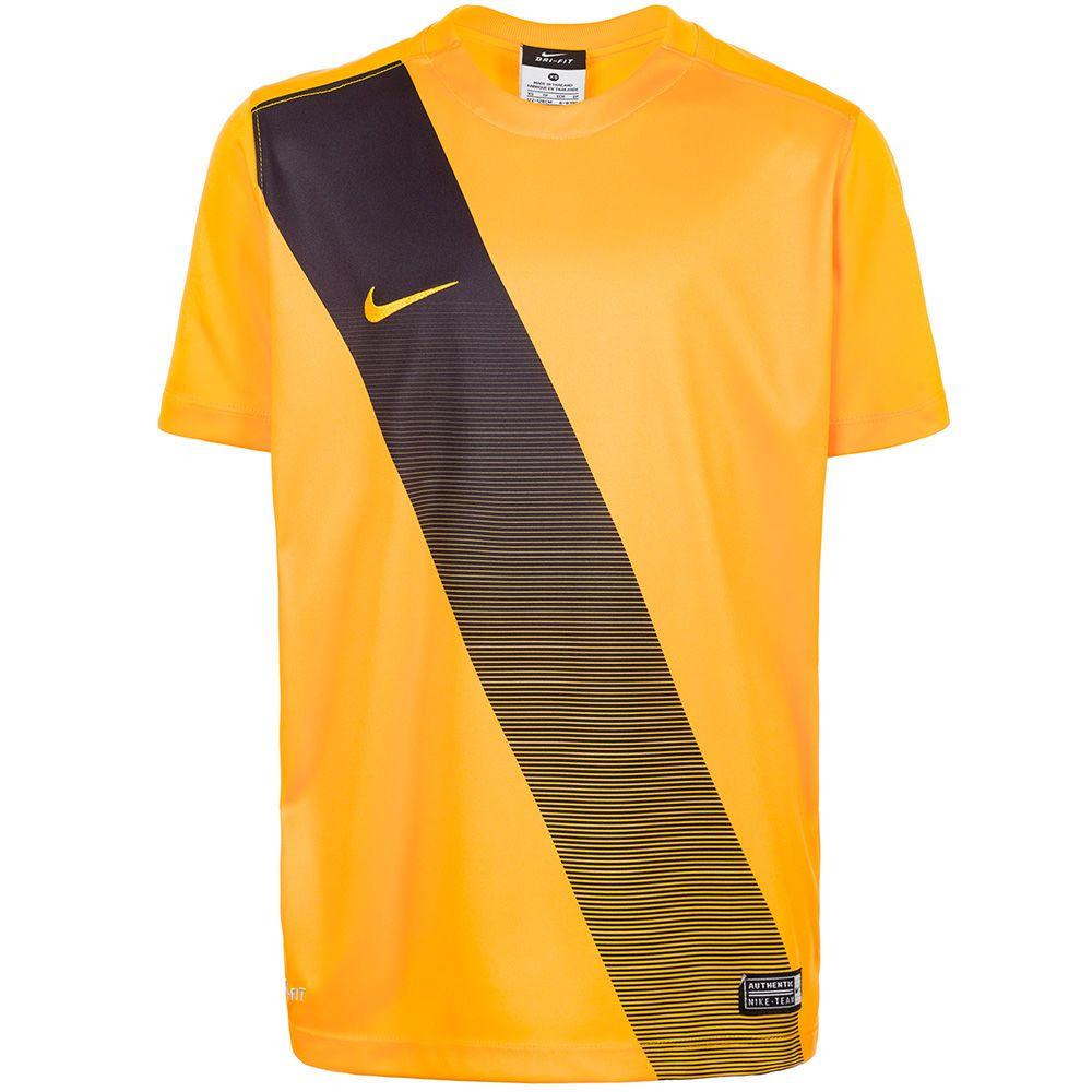Детская футболка Nike Sash жёлтая