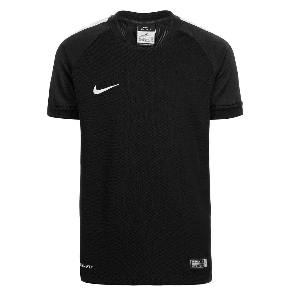 Детская футболка Nike Squad 15 тренировочная чёрная
