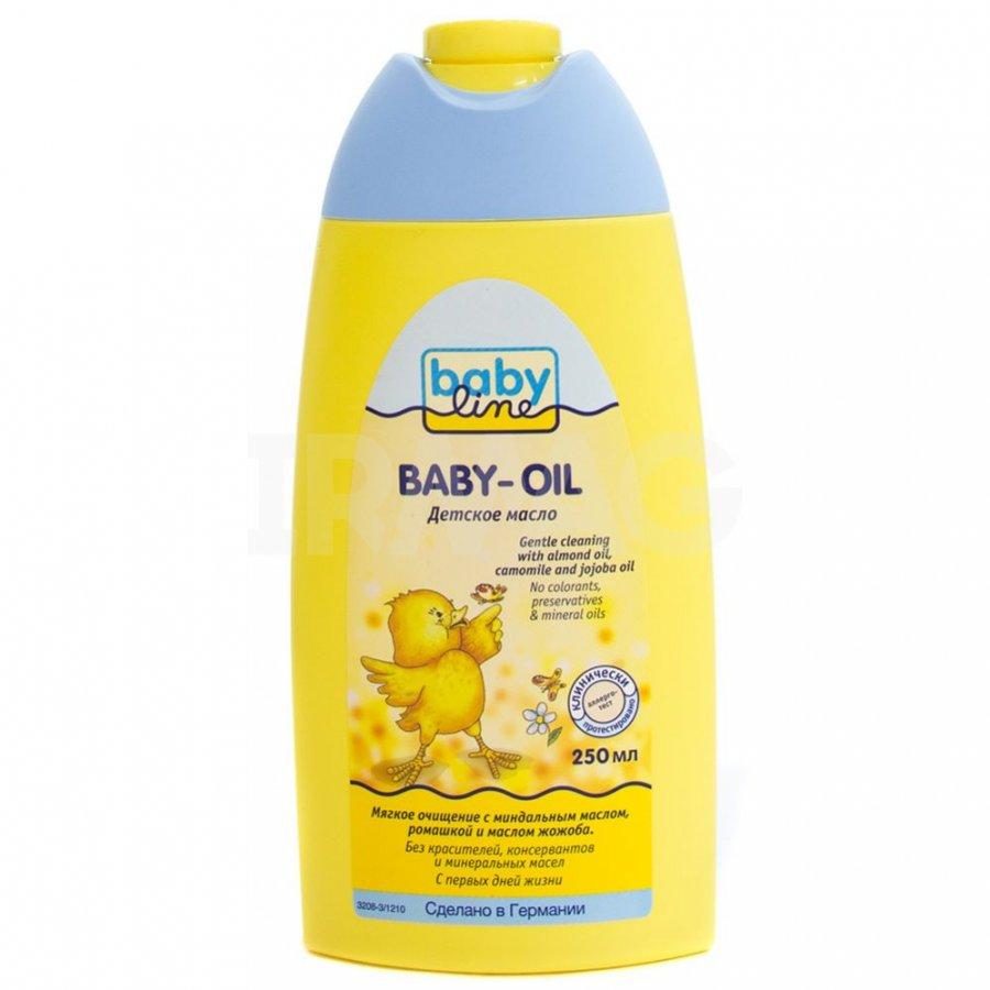 BABYLINE Детское масло, 250 мл