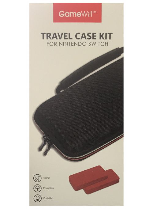 Набор Travel Case Kit (черный) (Nintendo Switch)