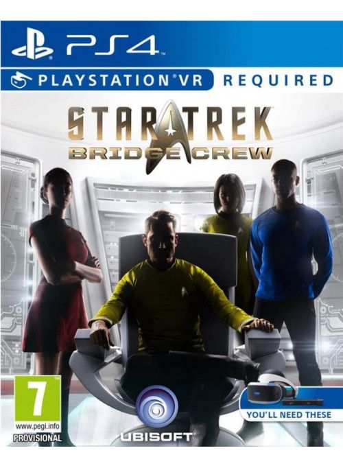 Игра Star Trek: Bridge Crew (только для PS VR) (PS4)