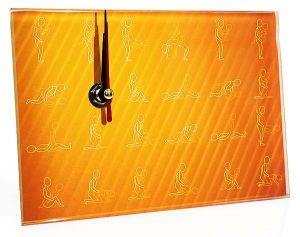 Часы стеклянные Камасутра