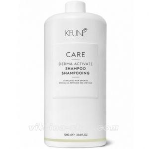 KEUNE Шампунь против выпадения волос / CARE Derma Activate Shampoo, 1000 мл. (21305) Кёне