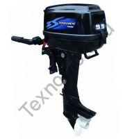Zongshen F 9.9 BMS четырехтактный подвесной лодочный мотор. texnomoto.ru