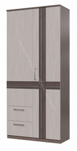 """Шкаф """"Презент"""" 2-х дверный с ящиками"""