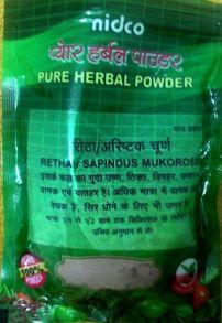 Мыльный орех молотый, Нидко  Retha/Sapindus Mukorossi, Nidco  100 g