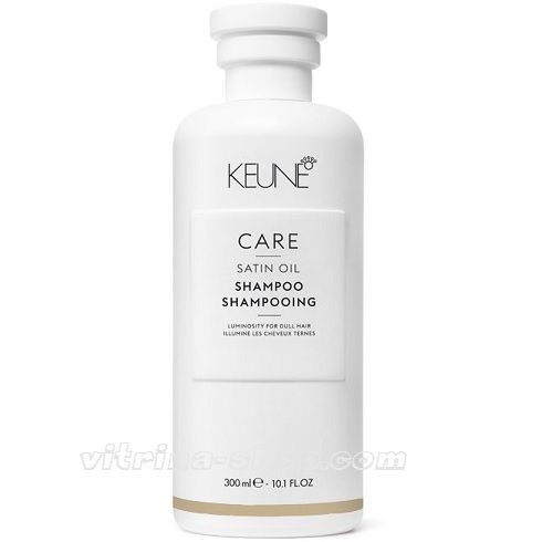 KEUNE Шампунь Шелковый уход / CARE Satin Oil Shampoo, 300 мл. (21310) Кёне
