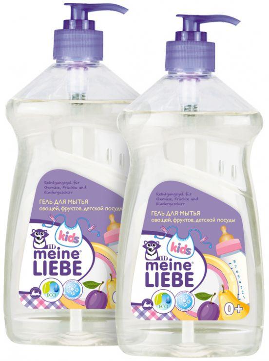 Meine Liebe набор Детский-3 гель для овощей 2 х 500 мл