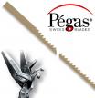 Пилки лобзиковые Pegas по металлу N8 0.5х1.15х130мм 28tpi 12 шт М00013439