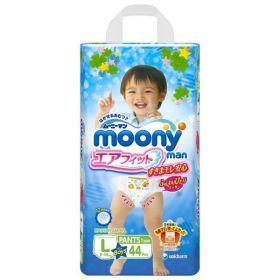 Трусики Moony для мальчиков от 9 до 14кг, 44шт