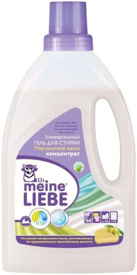 Meine Liebe Гель для стирки Марсельское мыло концентрат 800 мл