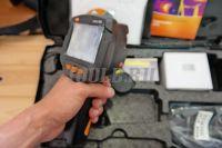 Testo 865 - тепловизор  - купить в интернет-магазине www.toolb.ru цена, обзор, отзывы, фото, характеристики, тест, поверка, официальный, сайт, производитель, заказ, онлайн, Москва