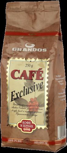 Кофе Грандос Эксклюзив зерно 250г