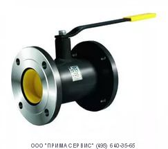 Кран шаровый LD стальной фланцевый КШ.Ц.Ф.300/250.016 Ру-16, Ду-300