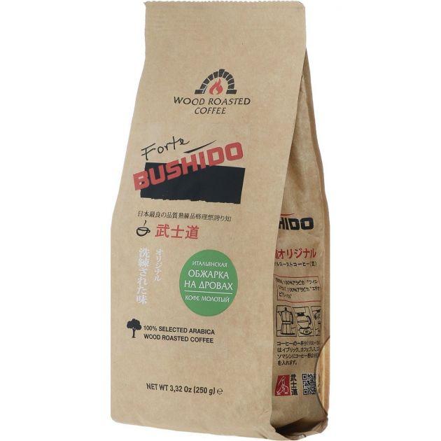 Кофе Бушидо Forte молотый 250г
