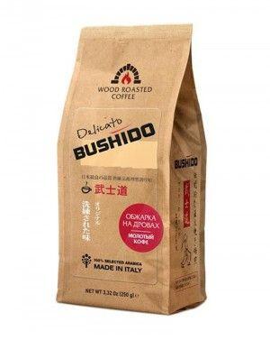 Кофе Бушидо Delicato молотый 250г