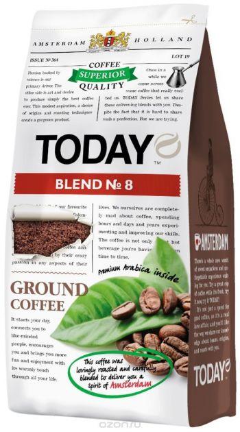 Кофе Today Blend & Кофе молотый 200г