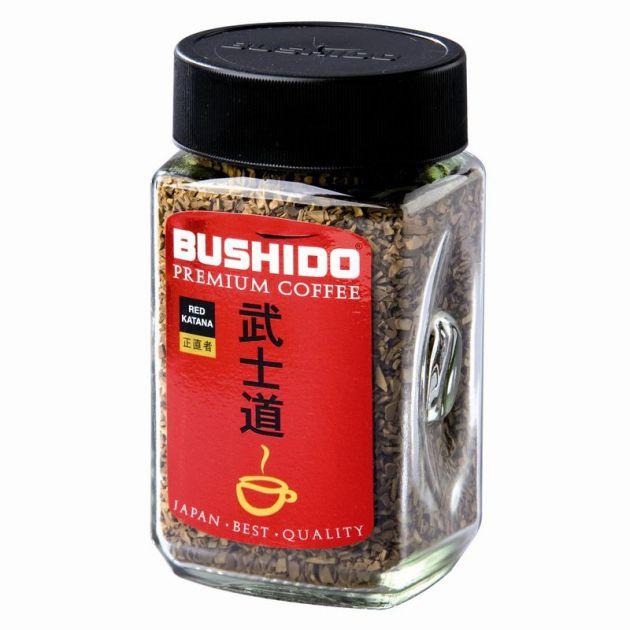 Кофе Бушидо Red katana крист.100г