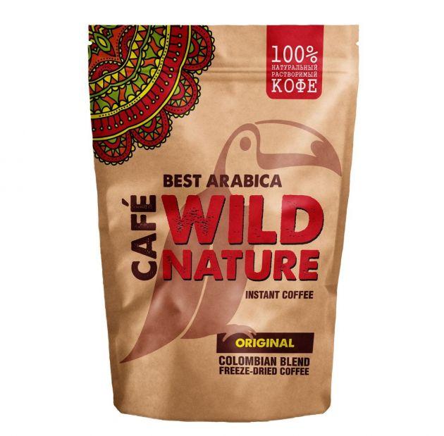 Кофе WILD NATURE Ориджинал пакет 75г