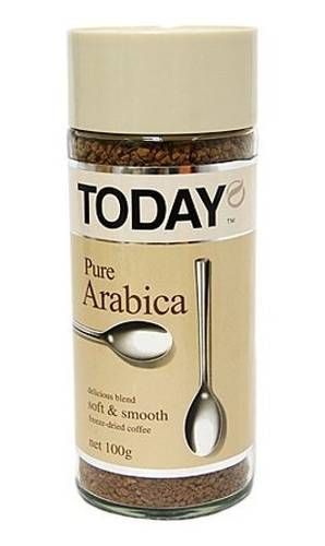 Кофе Today Pure Arabica 95г