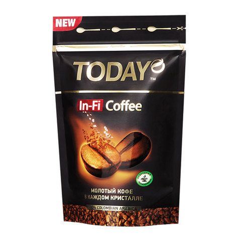 Кофе Today IN-FI пакет 150г